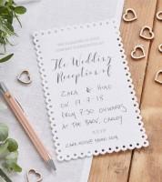 """Einladungskarten """"Wedding Reception"""" - 10 Stück"""