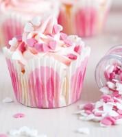 FunCakes Zuckerherzen - rosa/weiß - 60g