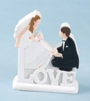 """Deko-Figur """"Hochzeitspaar"""""""