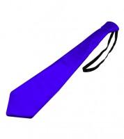 Krawatte - metallic blau