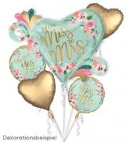 """Folienballon-Set """"Mint to Be"""" - 5-teilig"""