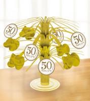 """Tischaufsteller """"50 Happy Years"""" - 19 cm"""