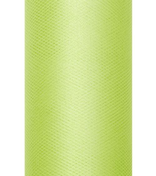 Tischläufer aus Tüll - hellgrün - 30 cm x 9 m