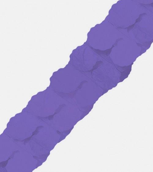 Papiergirlande - 3,65 m - lavendel
