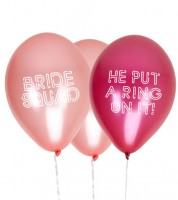 "Luftballons ""He put a ring on it"" - 8-teilig"