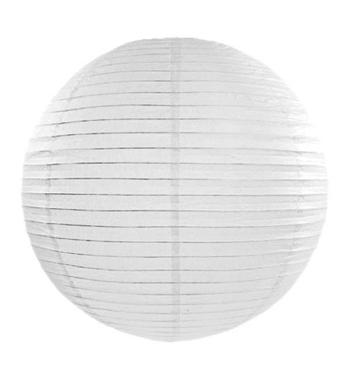 Papierlampion - weiß - 35 cm