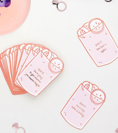 JGA Trinkspiel-Karten - 50-teilig