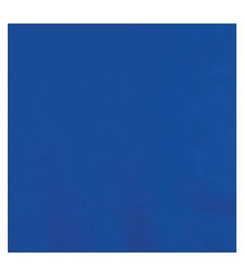 Servietten - kobaltblau - 50 Stück