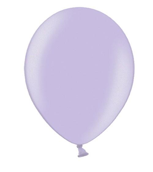 Metallic-Luftballons - lavendel - 10 Stück