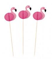 "Deko-Picks ""Flamingo"" - 10 Stück"