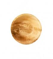 """Palmblatt-Schalen """"Pure"""" - rund - 13 cm - 25 Stück"""