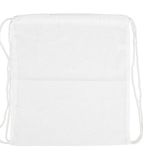 Turnbeutel zum Bemalen - weiß - 37 x 41 cm
