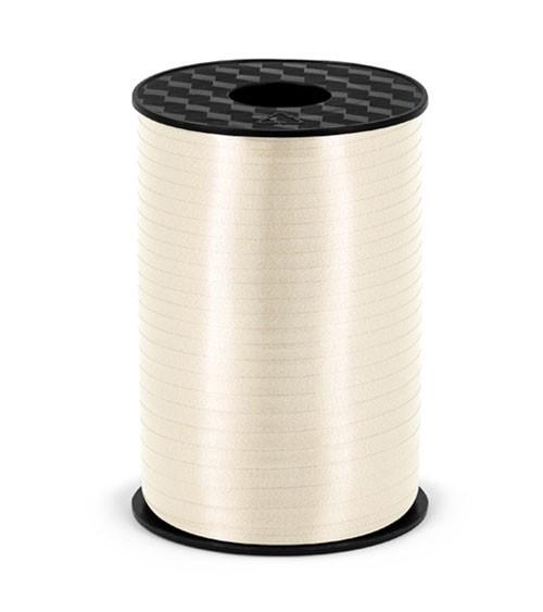 Geschenkband - hellcreme - 5 mm x 225 m