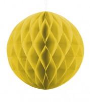 Wabenball - 30 cm - gelb