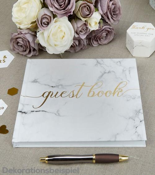 """Gästebuch """"Marmor"""""""