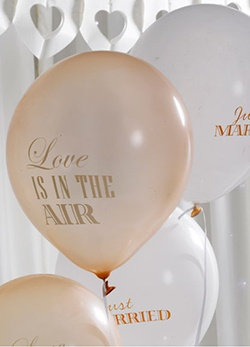 Luftballons Dekoration My Bridal Shower Schweiz