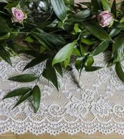"""Spitzen-Tischband """"Vintage"""" - 15 cm x 9 m"""