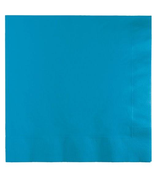Servietten - türkisblau - 50 Stück