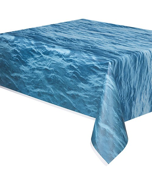 """Kunststoff-Tischdecke """"Wasser"""" - 137 x 274 cm"""