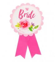 Bride-Orden aus Papier - 13 cm