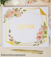 "Gästebuch ""Geo Floral"""