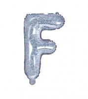 "Folienballon Buchstabe ""F"" - holographic - 35 cm"