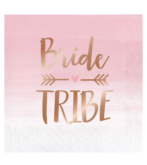 "Servietten ""Rosé All Day"" - Bride Tribe - 16 Stück"