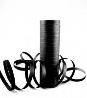 Papierluftschlange - schwarz