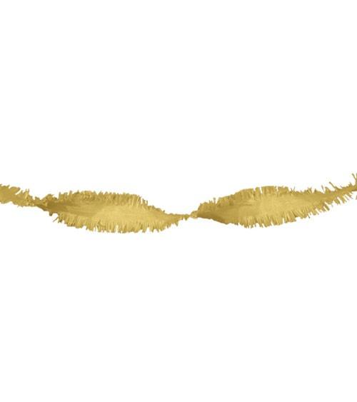 Drehgirlande 24 m - gold