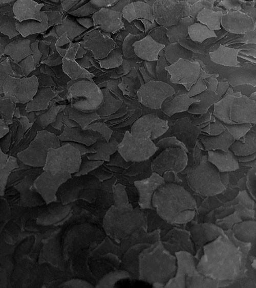 Papierkonfetti - 100 g - schwarz
