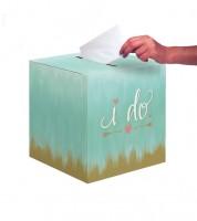 """Kartenbox """"I do"""" - 30,48 x 30,48 cm"""