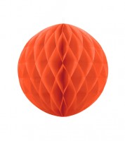 Wabenball - 20 cm - orange