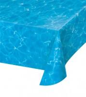 """Kunststoff-Tischdecke """"Meer"""" - 137 x 274 cm"""