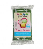 Funcakes Fondant - forest green - 250 g