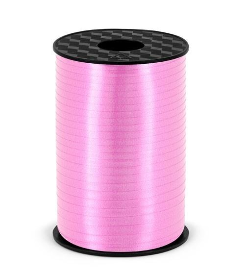 Geschenkband - rosa - 5 mm x 225 m