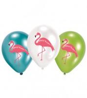 """Luftballon-Set """"Flamingo Paradise"""" - 6-teilig"""