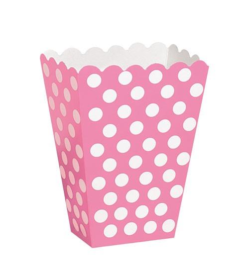 """8 Süßigkeitenboxen """"Big Dots"""" - pink"""