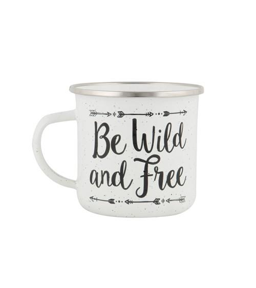 """Tasse """"Be Wild and Free"""""""
