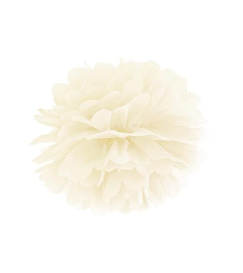 Pom Pom - 25 cm - creme