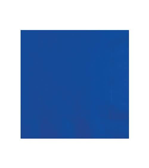 Cocktail-Servietten - kobaltblau - 50 Stück